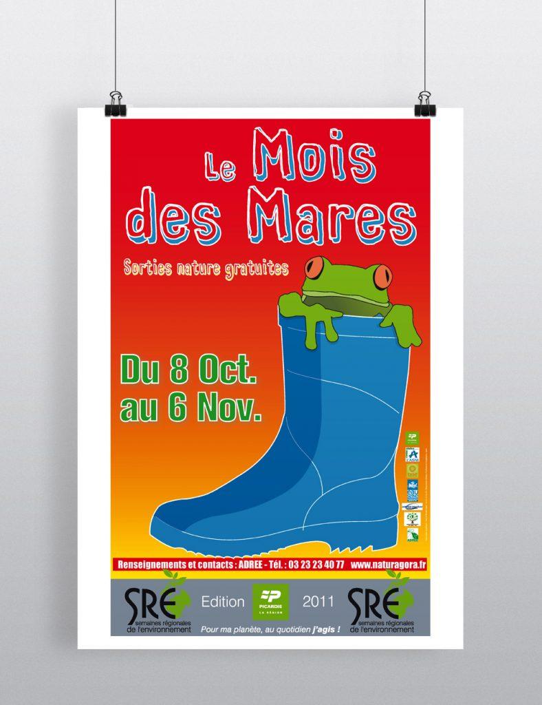 Affiche Mois des Mares 2011