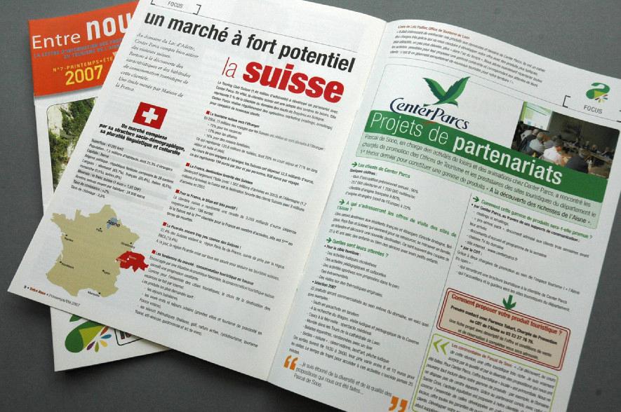 ADRT - Newsletter : pages intérieures