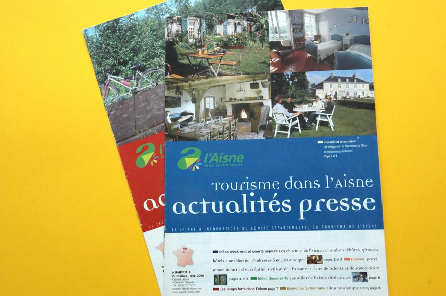 ADRT Aisne  - Newsletter internes