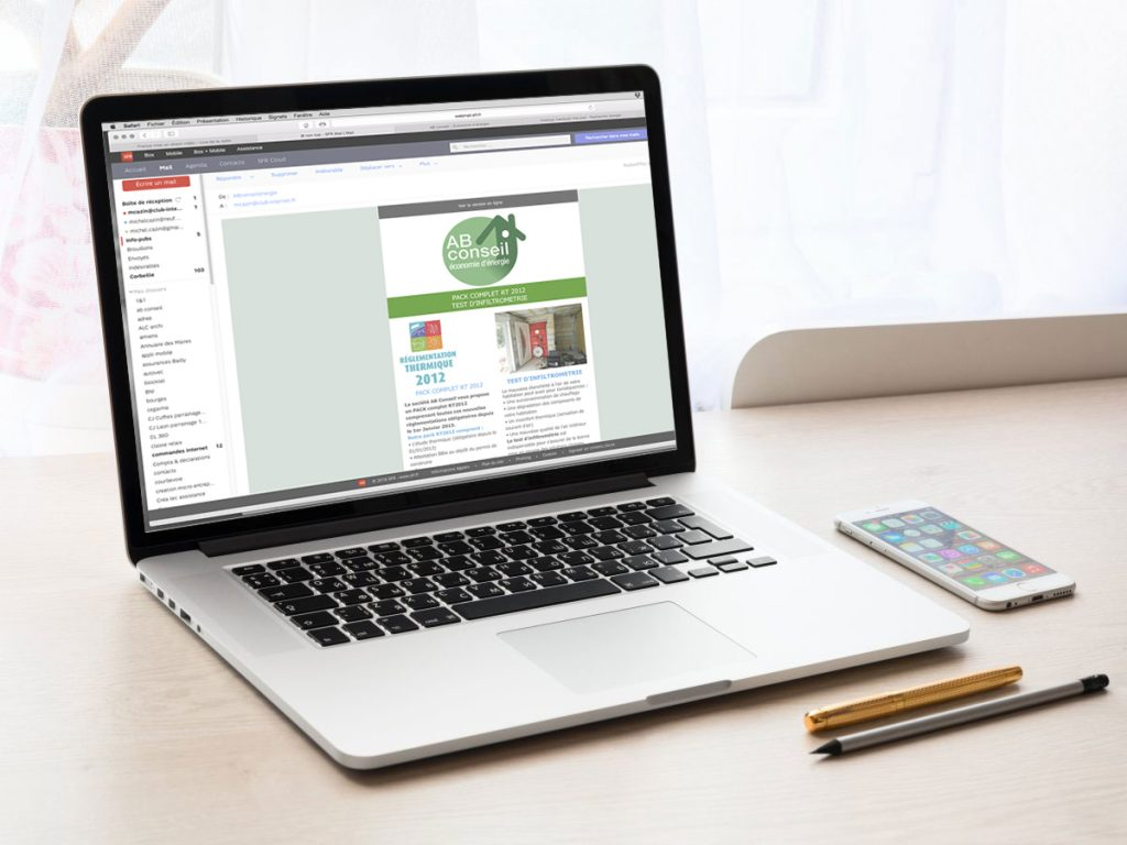 Emailing AB Conseil Energie